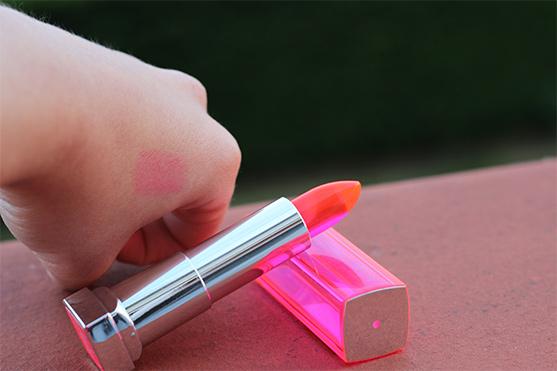 Color sensationnal popstick teinte tropical pink de Gemey Maybelline