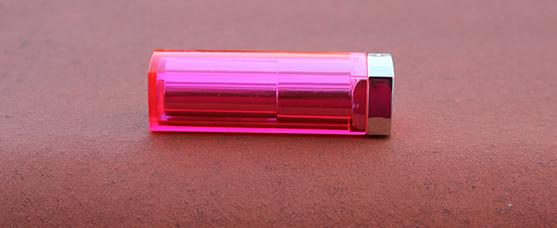 Teinte tropical pink de gemey maybelline color sensationnal popstick