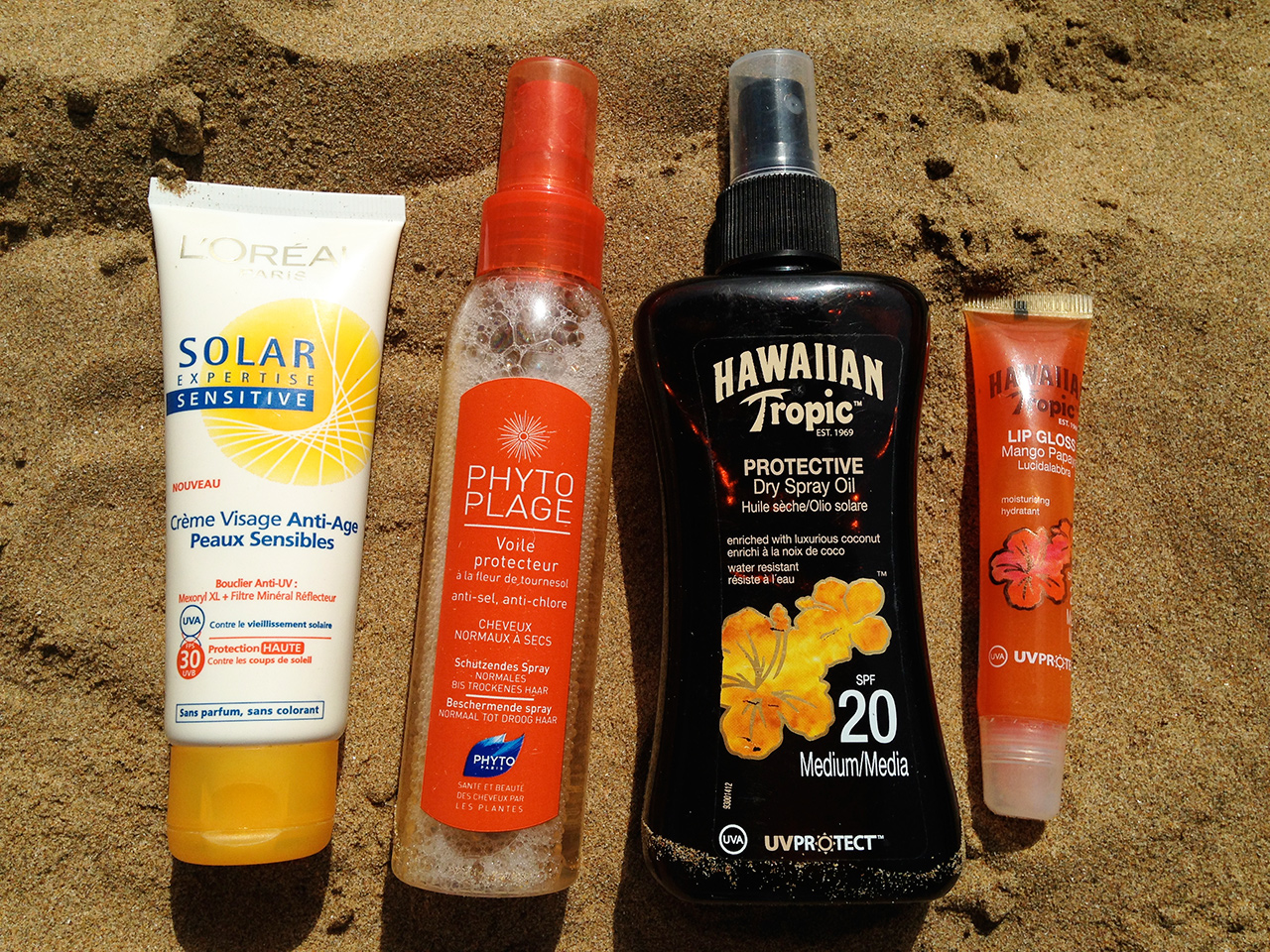 Vanity soleil L'Oréal Hawaiian Tropic Phyto