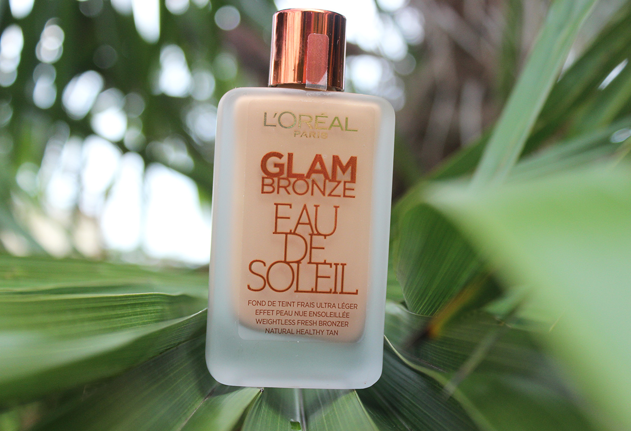 Glam Bronze Eau de soleil de L'Oréal