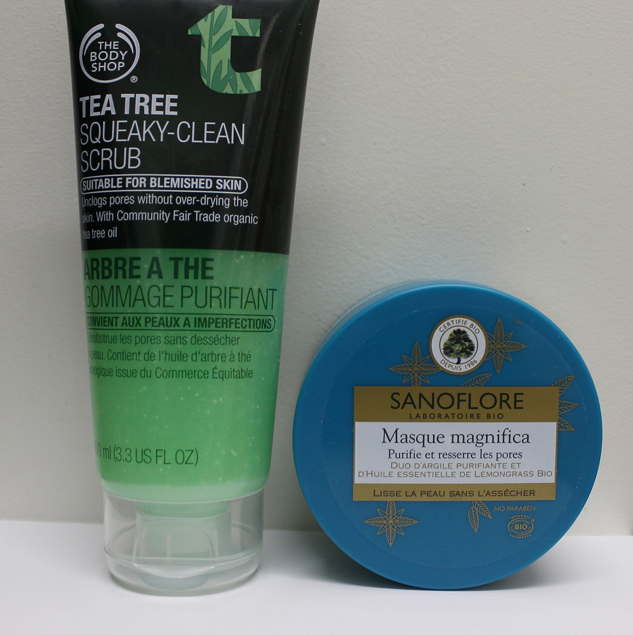 Sanoflore et The Body Shop