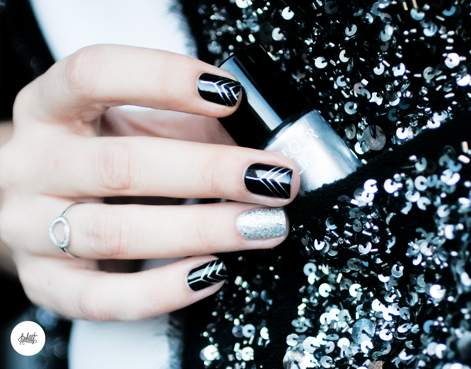 Inspirations nouvel an froufrouandco blog beaut toulouse - Nail art nouvel an ...