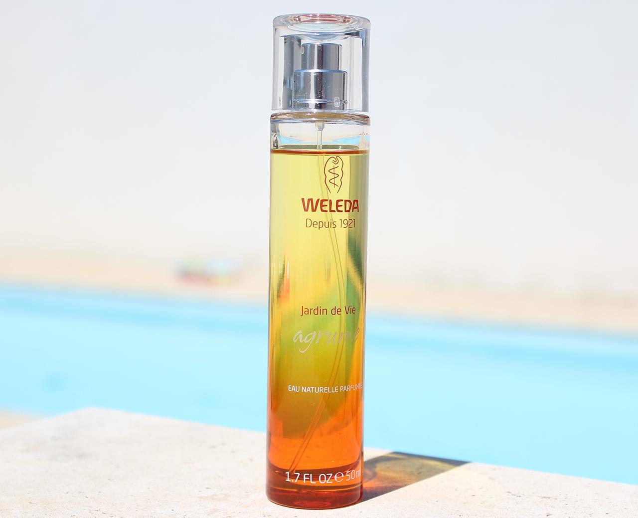 Jardin de Vie parfum Agrume Weleda