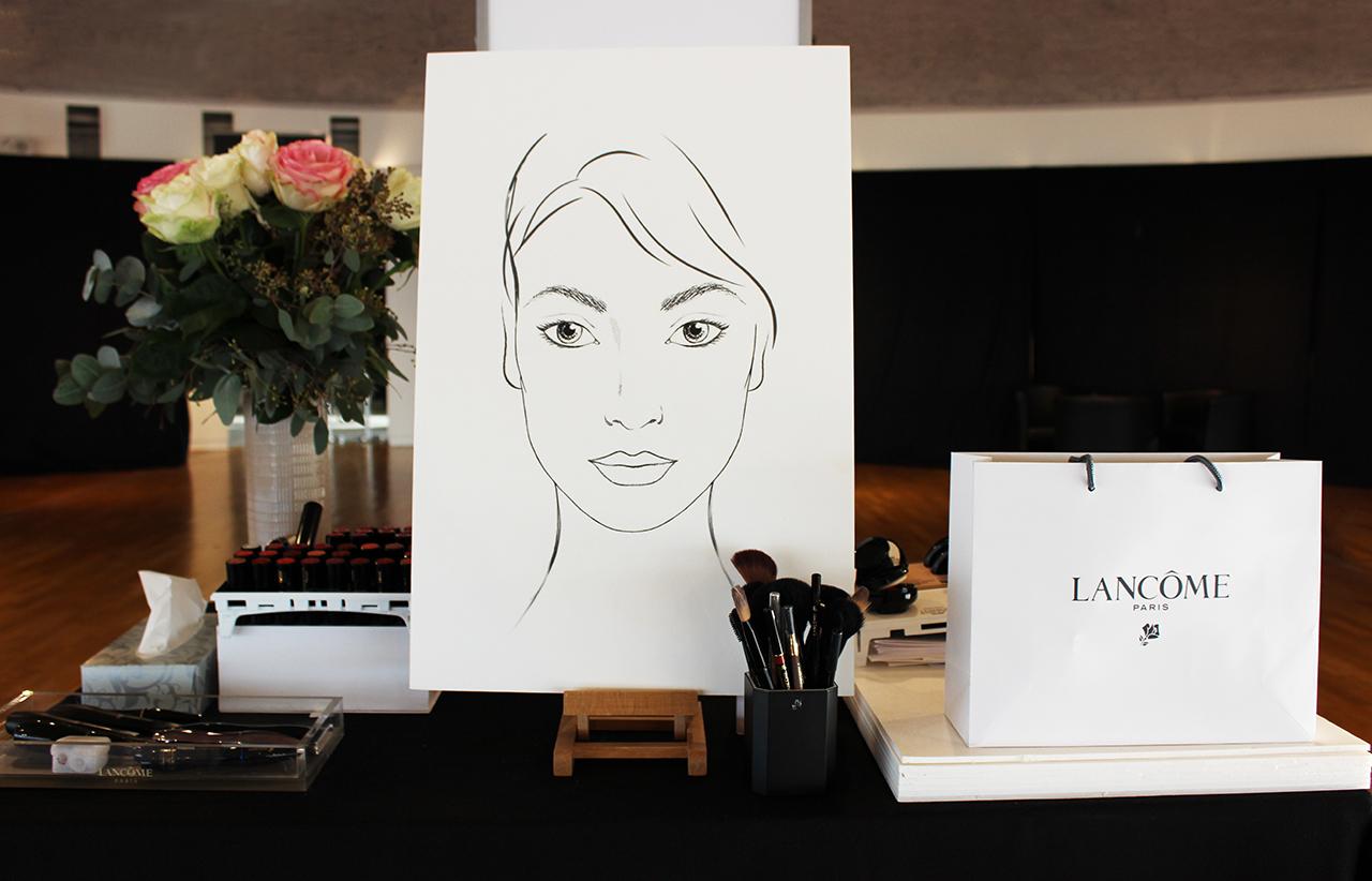 Master Class Lancôme Galeries Lafayette