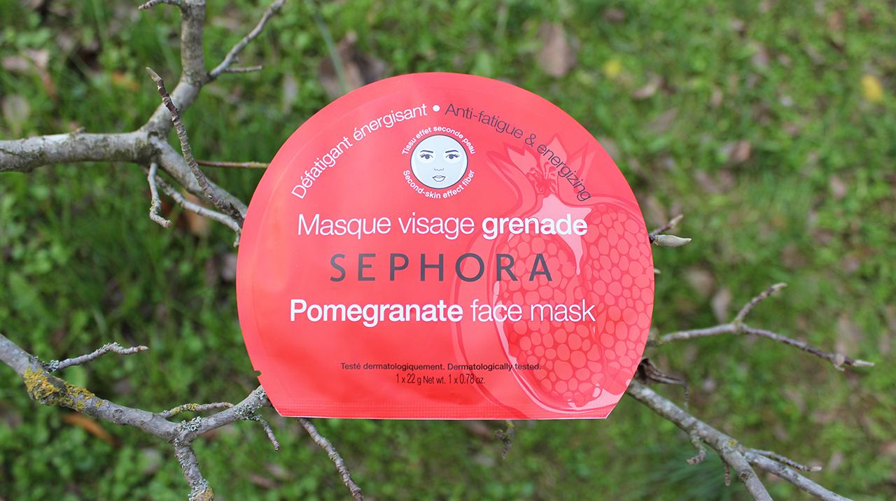 Masque tissu visage sephora