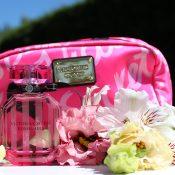 Victoria's secret trousse parfum Bombshell et lip balm