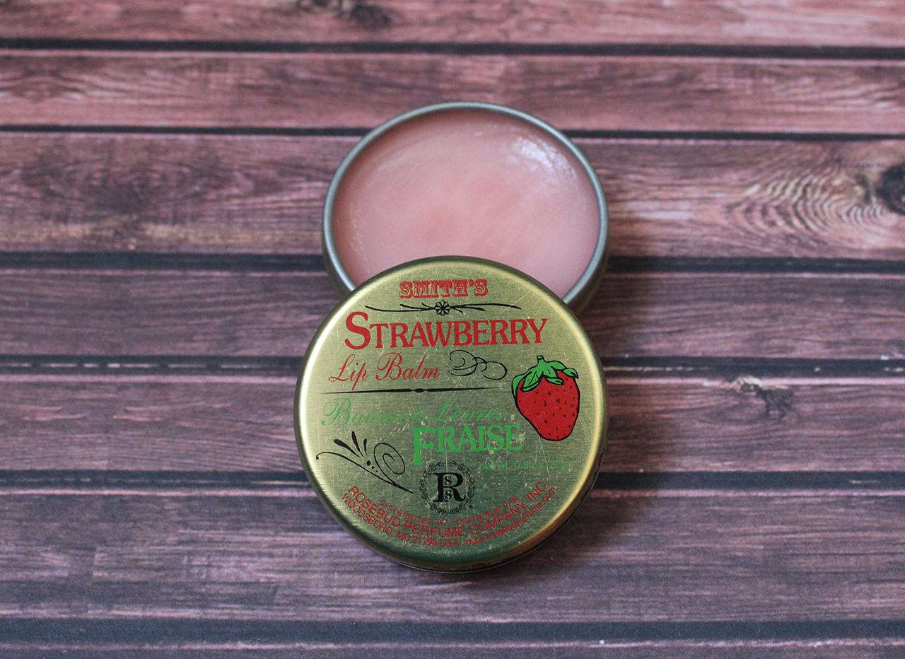 Baume hydratant fraise Rosebud Smith