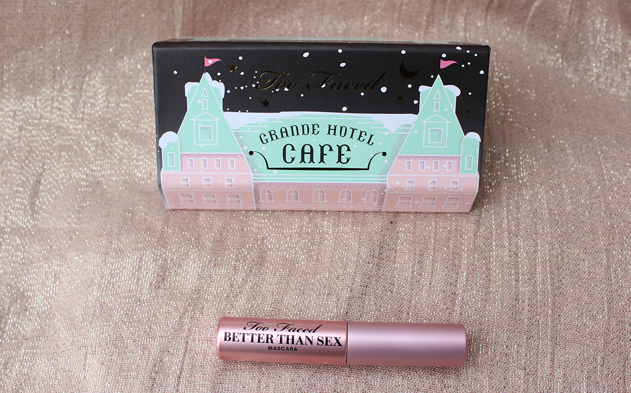 Too Faced Grande Hotel Cafe Mascara Better Than Sex
