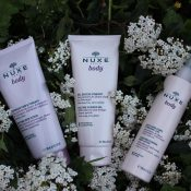 gel douche gommage creme nuxe body