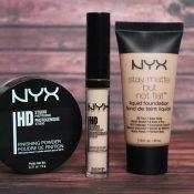 NYX Fond de teint - Anticerne - Poudre fixante HD