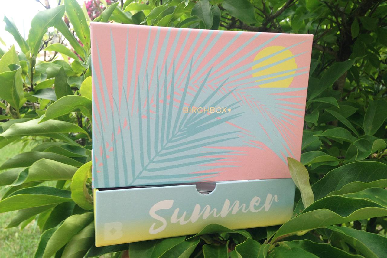 Birchbox Juillet 2017 - Summer Vibes