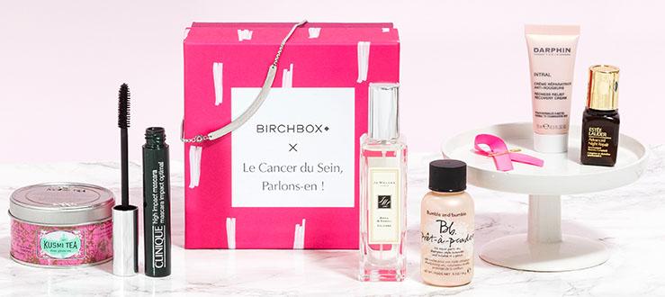 Birchbox x Estee Lauder Octobre Rose