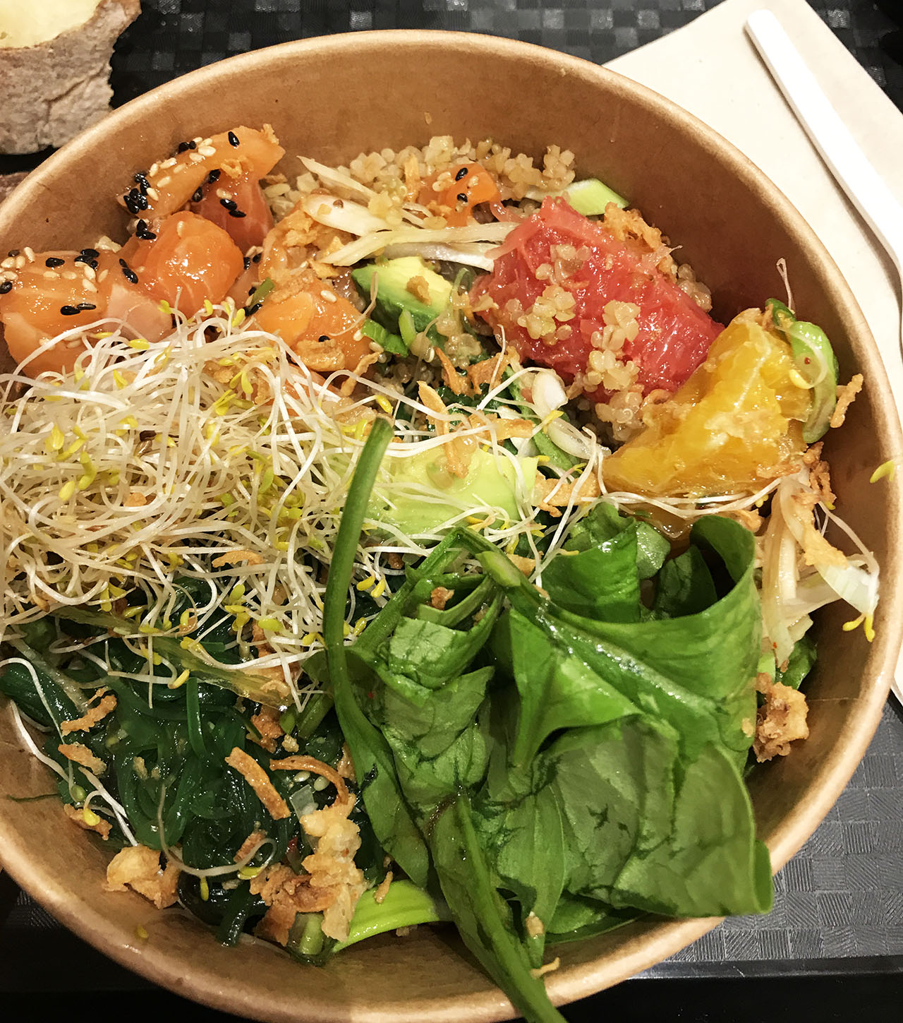 Poke Bowl Orly food