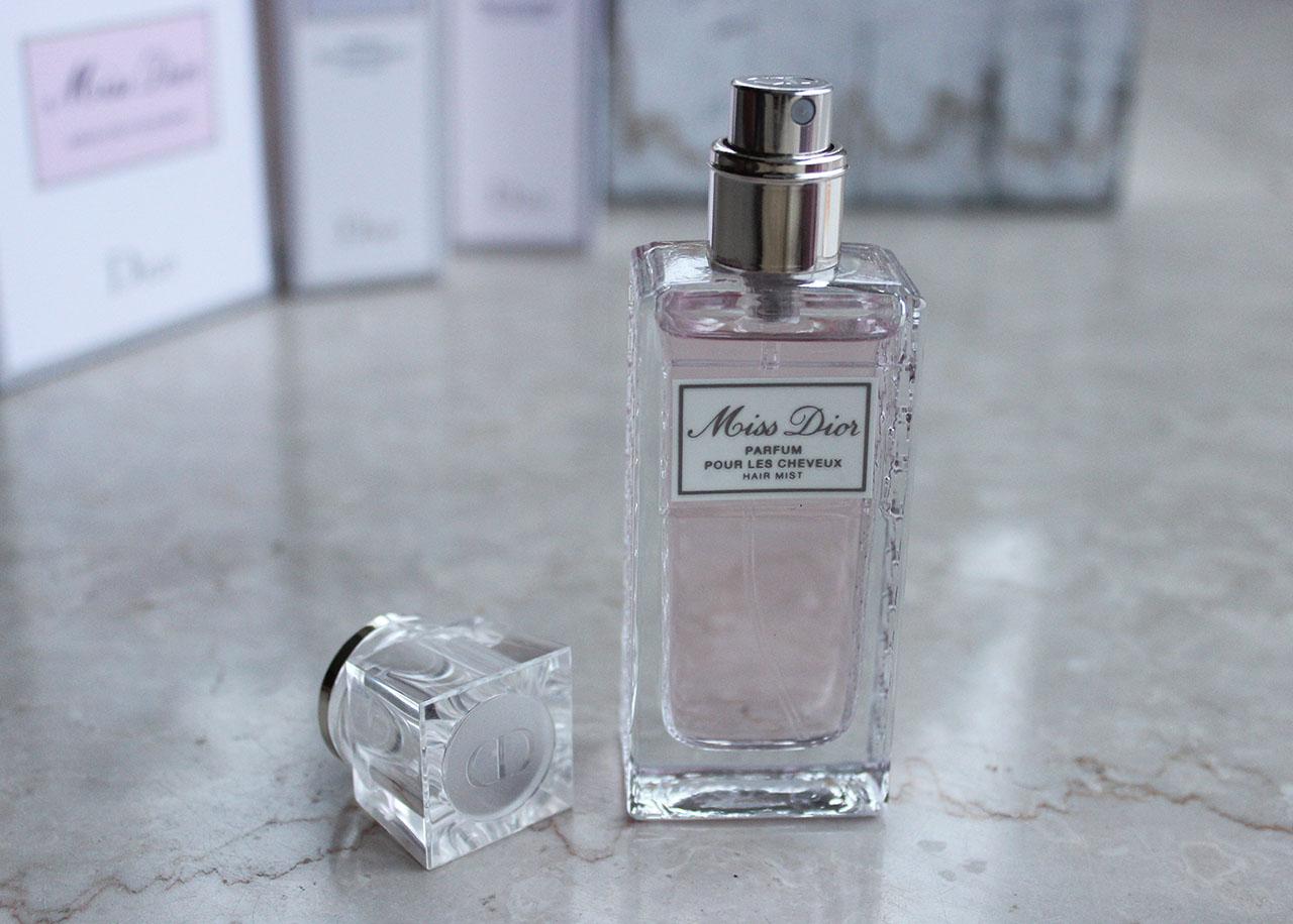 Miss Dior parfum cheveux