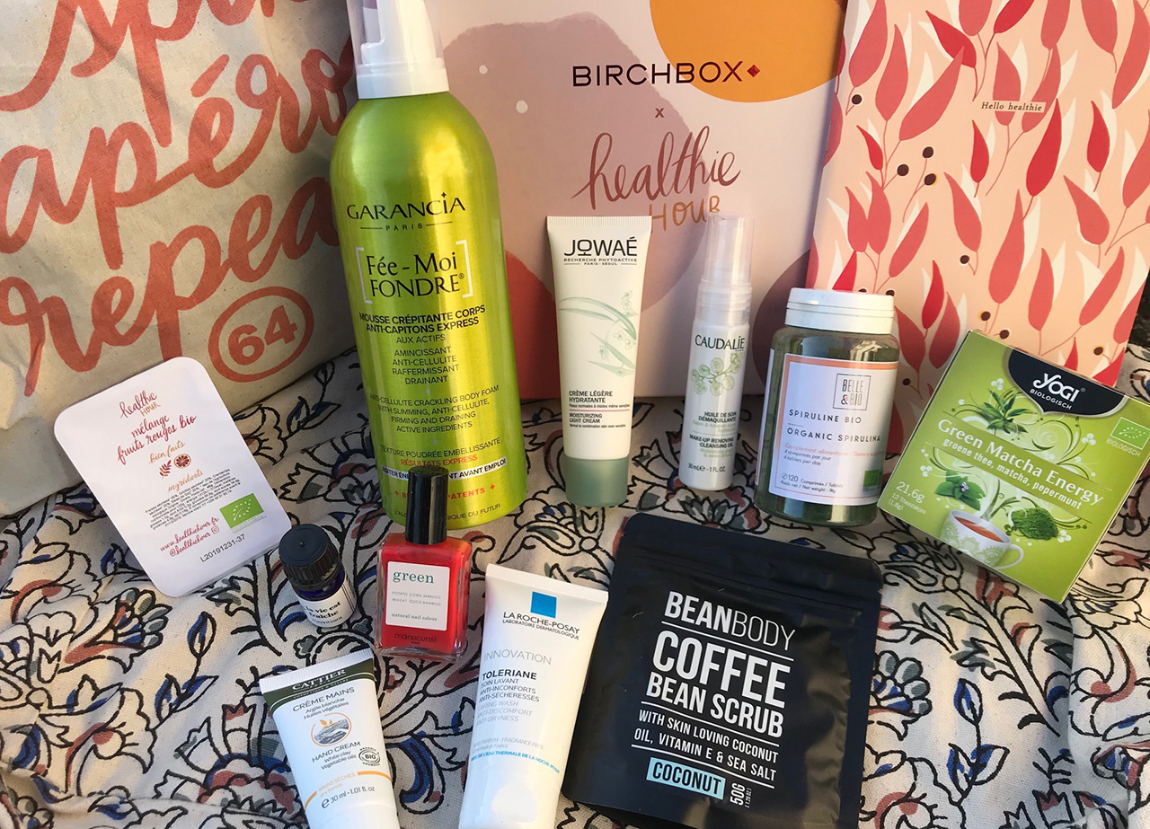 Healthie Hour Birchbox
