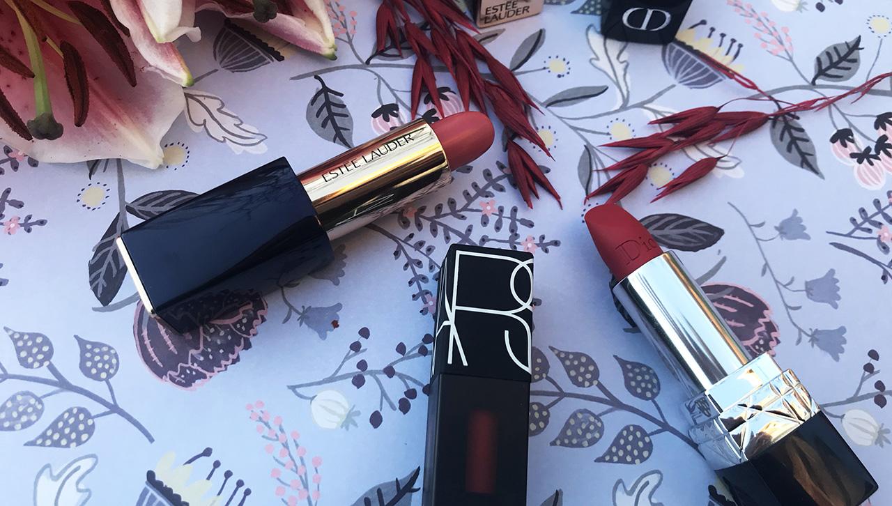 Rouges à lèvres Dior Nars Estée Lauder